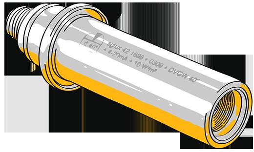sglux UV-Mess-Sonden - Illustration