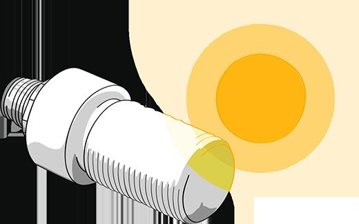 sglux UV-Index-Messung - Illustration