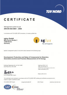 sglux-iso9001-certification
