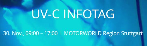 UVC Info Day Logo