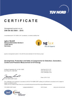 sglux DIN ISO 9001 2015-english_2019
